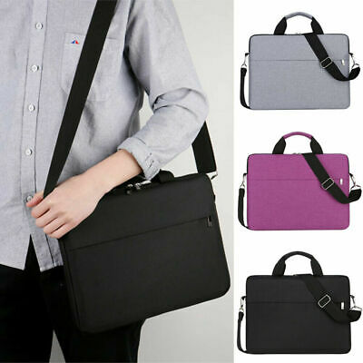 14-15.6 Inch Laptop PC Waterproof Shoulder Bag Carrying Soft Notebook Case Cover • 13.22£