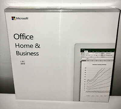 Microsoft Office Home And Business 2019 / PC / DVD / Genuine / New But Unsealed • 115£