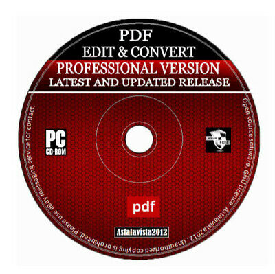 2020 Pro PDF Editor Converter & Viewer - Save Edit Open Convert Any Text & PDF + • 2.99£