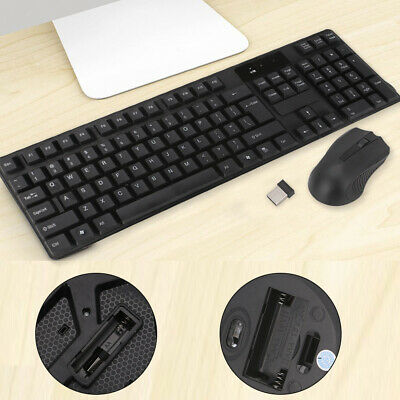 2.4GHz Gaming Gamer Keyboard And Optical Mouse Set Combo For PCLaptop Waterproof • 11.49£