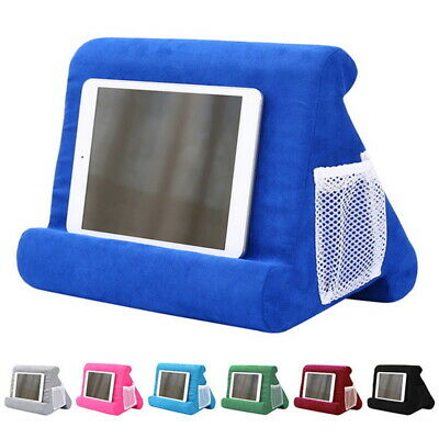 Multi-Angle Laptop Holder Tablet Foam Pillow Stand Cushion For Ipad Bed Soft • 8.99£