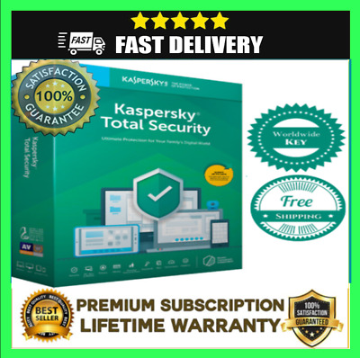 Kaspersky Total Security 1PC / 1 Device / 1 Year / Global Key • 4.99£