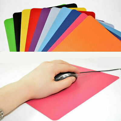 New Ultra-thin Anti-Slip Mouse Mat For PC Laptop ,Computer Office Home Desk UK • 2.29£