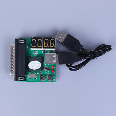 PC&laptop Diagnostic Analyzer 4 Digit Card Motherboard Post Tester  RC • 7.60£