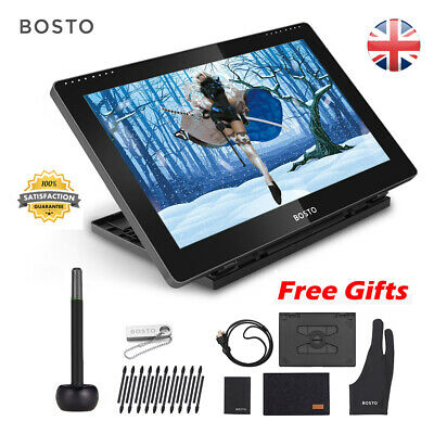 BOSTO 15.6  Writing Tablet Drawing Board Pad Kids Designer Digital Notepad • 239.99£