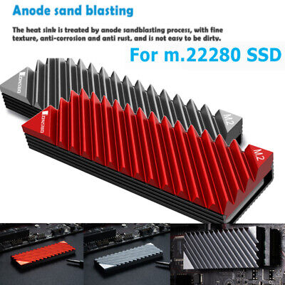 Jonsbo M.2-3 Heat Sink Cooling Pads  2280 SSD Heat Dissipation Radiator For PC • 5.49£