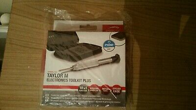 Cute Speedlink TAYLOR M ELECTRONICS TOOLKIT PLUS For Computers/electronics Etc. • 11.62£