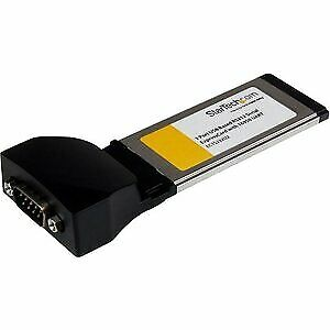 NEW! Startech 1 Port Expresscard To Rs232 Db9 Serial Adapter Card W/ 16950 Usb B • 42.79£