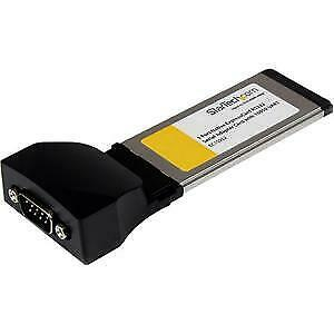 NEW! Startech 1 Port Native Expresscard Rs232 Serial Adapter Card With 16950 Uar • 63.47£