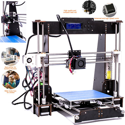 2020 3D Printer A8 High Precision Self Assembly DIY Kit LCD- PLA/ABS -UK Stock • 92.39£
