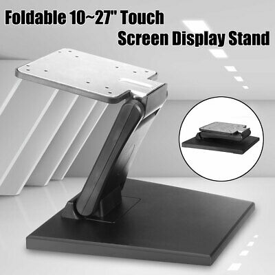 Folding Tilt Monitor LCD Mounted Holder TV PC Screen Table Desk Support Stand • 14.65£