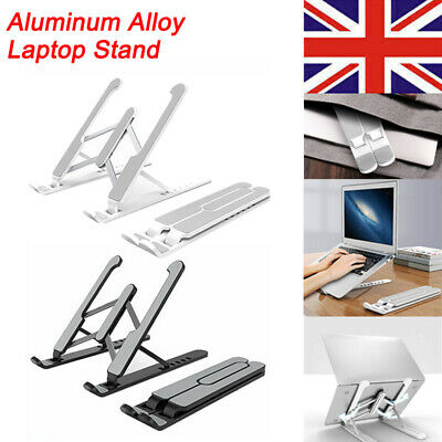 Portable Laptop Stand Foldable Support Base For MacBooks Notebook Stand Holder • 12.15£