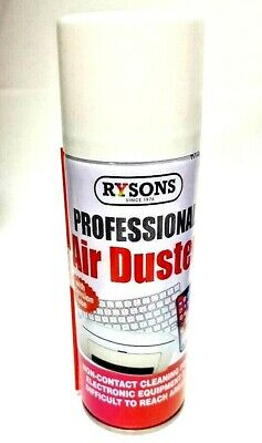 Air Duster Aerosol Spray Can Cleans Protects Laptops Keyboards 200ml • 5.99£