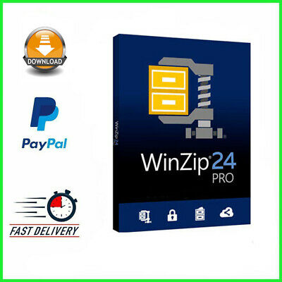 WinZip 24 Pro ✔️ Full Version ✔️ 5 PC ✔️ Lifetime Licence Key ✔️ Windows ✔️  • 3£