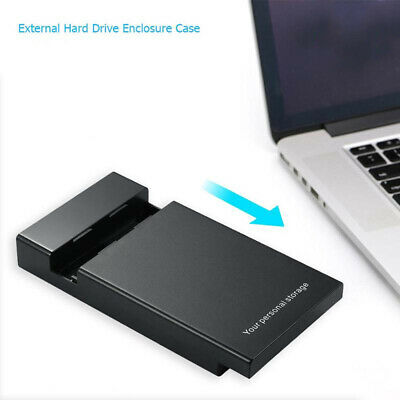 External 6Gbps USB 3.0 To SATA III 2.5  3.5  Hard Drive Enclosure HD SSD HDD Box • 14.39£