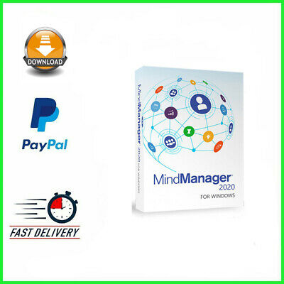 Mindjet Mindmanager 2020 ✔️5 PC✔️ X64 & X32 ✔️Lifetime Licence Key✔️Windows✔️  • 4£