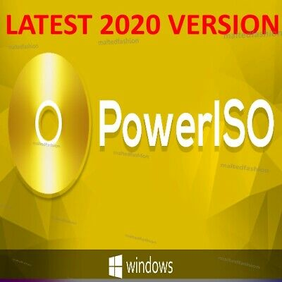 Power Iso 7.7 🔑Official Lifetime License KEY With 🔑 LATEST VERSION 2020 • 1.99£