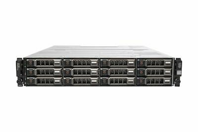 New Dell PowerVault MD1200 12x 2TB 3.5  HDD Dual 6G SAS Controllers 2x 600W PSU • 1,800£