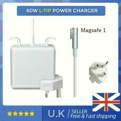 60W AC Power Adapter Charger For Apple Macbook Pro 13  A1278 2009-2011 L-Tip • 19.99£