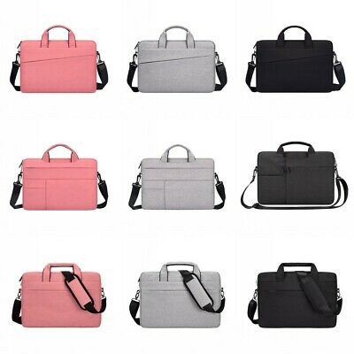 13.3-15.6  Inch Laptop Bag Notebook Computer Shoulder Carry Case Padded Pouch UK • 15.29£