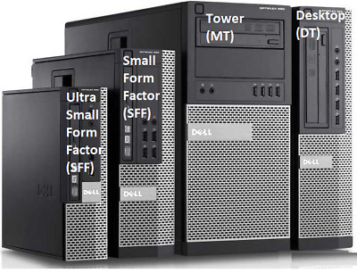 Fast Dell Optiplex Computer Desktop Pc Customise Ram Hdd  With Windows 10 • 60£