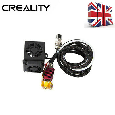Creality 3D CR-10S Full Assembled Extruder Kit CR-10 Hotend Assembly Nozzle B8T7 • 24.72£