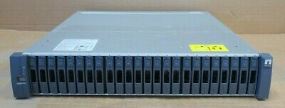 NetApp DS2246 Disk Shelf With 24x 600GB SAS 2.5  Hard Drives 2x IOM6 2x 750W PSU • 396£