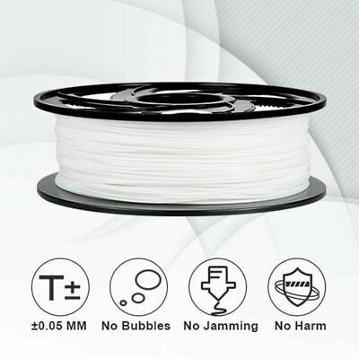 3D Printer Filament PLA 1.75mm Diameter 1KG Spool Black Or White Vacuum Sealed • 17.69£