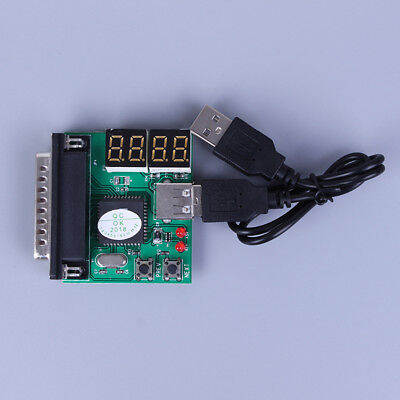 PC&laptop Diagnostic Analyzer 4 Digit Card Motherboard Post Tester  RC • 6.31£