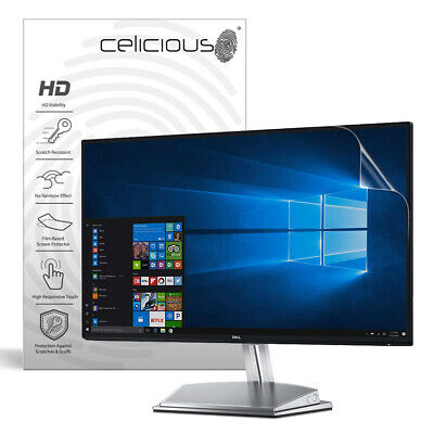 Celicious Vivid Dell InfinityEdge Monitor 24 S2418H Invisible Screen Protector • 34.95£