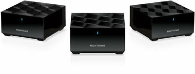 NETGEAR Nighthawk Whole Home Mesh WiFi 6 System MK63 - AX1800 Router With 2 Sate • 320.68£