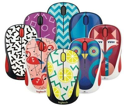 Logitech M317 Wireless Optical Mouse Many New Colors To Choose From M325 M185 • 14.99£