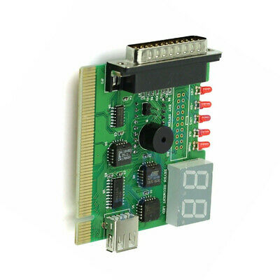 With Light PCI PC Motherboard Diagnostic Card Error Code USB Notebook Digital • 5.19£