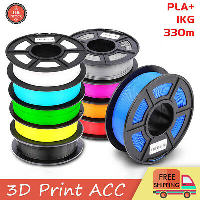 New PLA+ 3D Printer Filament Printing 1.75mm 1KG Spool Muti-Color Material Kit  • 12.99£