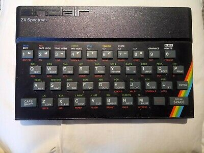 Sinclair ZX Spectrum 48k With Power Supply. • 27.50£