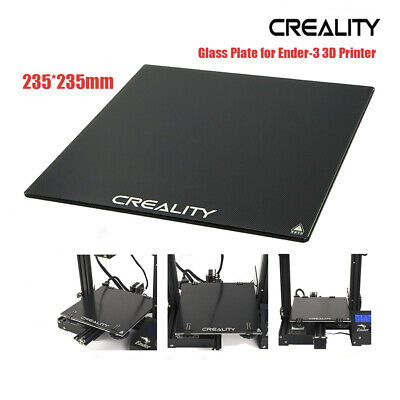 Creality 3D Heat Bed Surface Glass Plate 310x310mm For CR-10 CR-10S 3D Printer • 17.27£