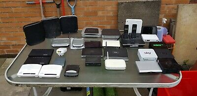 Joblot Of Routers/modems Please Read • 10£