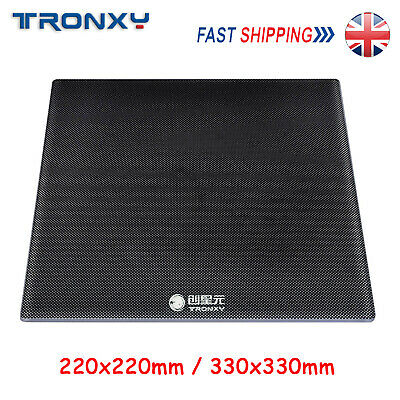 Tronxy Carbon Silicon Crystal Glass 3D Printer Hotbed Platform Build Surface UK • 11.99£