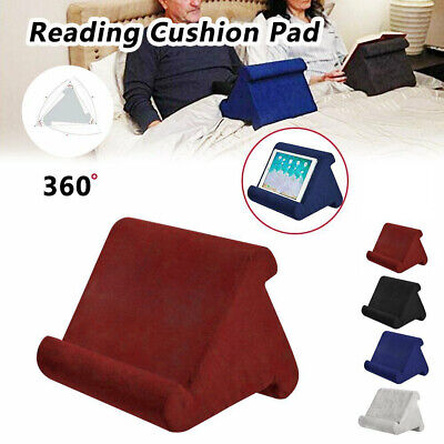 Tablet Stand Pillow Holder Book Reader Rest Lap Reading Cushion For IPad Phone • 8.69£