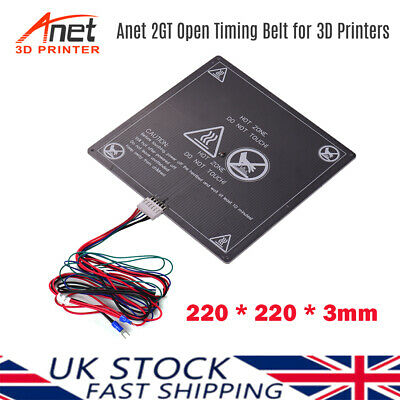 Anet Upgrade Heating Bed Heatbed For Anet A8 A6 A2 TRONXY P802M DIY 3D Printer • 12.59£