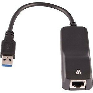 NEW! V7 Gigabit Ethernet Card For Computer/Notebook Usb 3.0 1 PortS 1 Twisted Pa • 20.65£