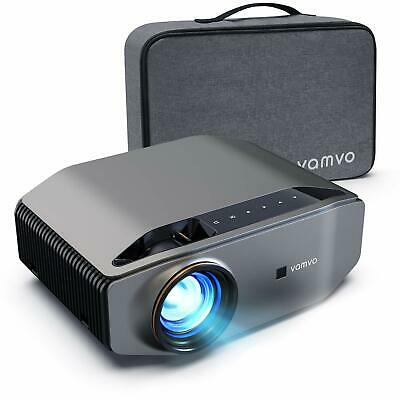 Projector Vamvo L6200 Native 1080P Full HD Video Projector 6000 Lux With Dolb... • 169£