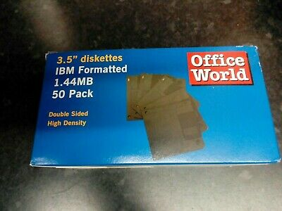 Box Of 50 Computer Diskettes • 4.99£