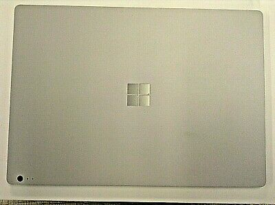 Rear Housing Cover For Microsoft Surface Book 1703 Replacement Back Bezel Silver • 50£