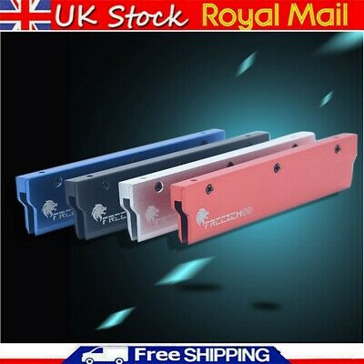 New Aluminum Alloy PC DDR2/DDR3/DDR4 RAM Cooling Heat Insulating Cooler Case UK • 7.39£