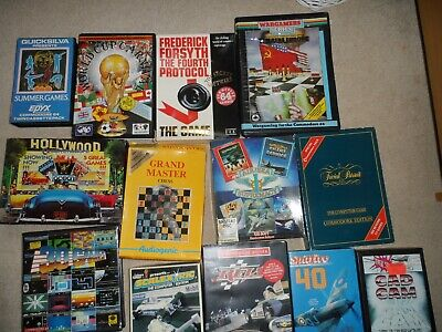 Commodore 64 Large Games Bundle • 26£