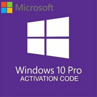 Win 10 Professional 32/64 Bit Genuine License Key Fast Delivery🔰 • 2.99£