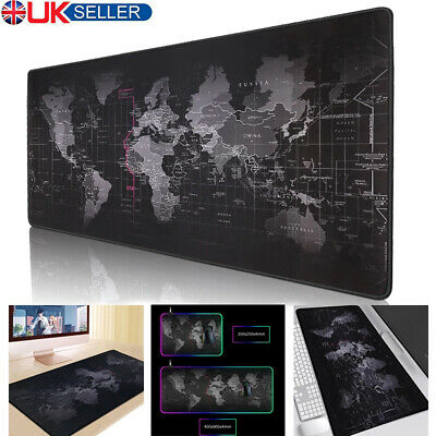 Gaming Mouse Pad Mat Extra Large XL XXL Size Anti-Slip For PC Laptop Macbook • 6.79£