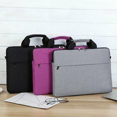 14.1 Inch Laptop PC Waterproof Shoulder Bag Carrying Soft Notebook Case Cover UK • 8.53£