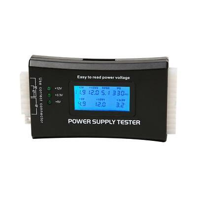 Digital LCD Display PC Computer 20/24 Pin Power Supply Tester Measure Tool • 8.73£